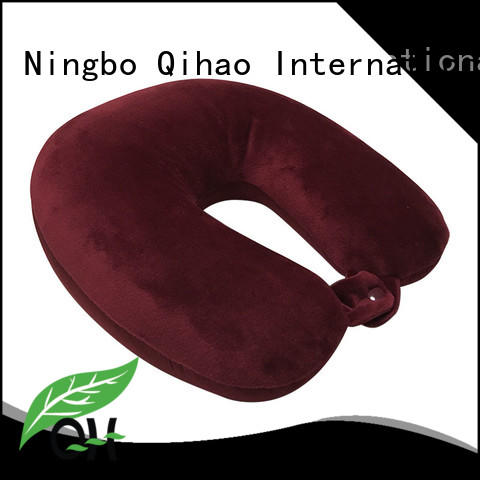 Qihao color best neck support travel pillow company for businessmen