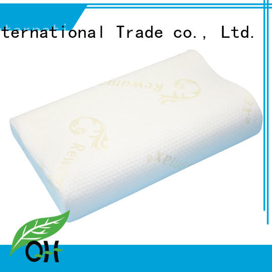 Qihao new-arrival Viscoelastic foam pillow supply for a rest