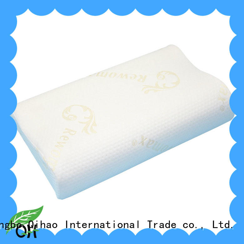 Cool touch Viscoelastic foam pillow memory supply for office