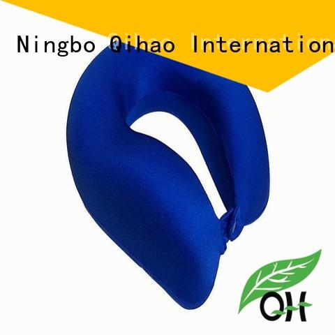 Qihao travel best airplane neck pillow company for business trip