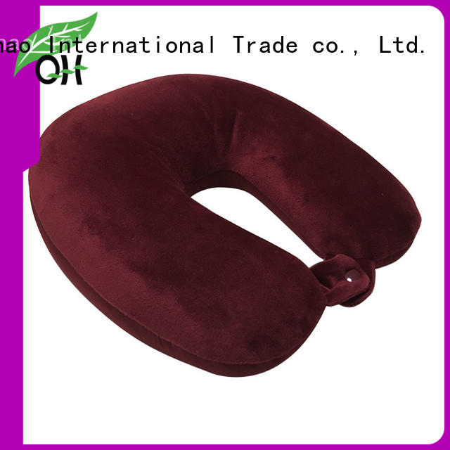 custom neck rest pillow for travel microbead factory for travel