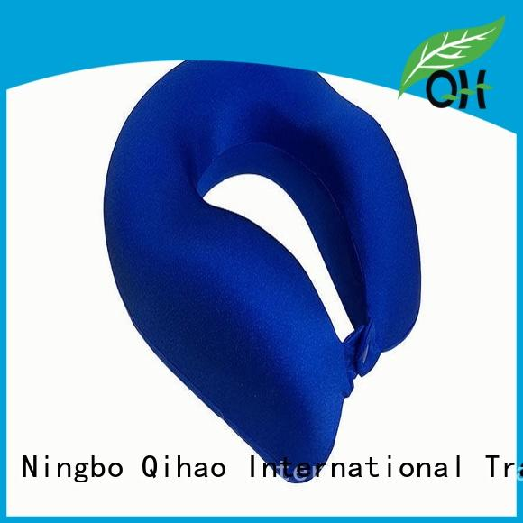 Qihao Cool Feel the best memory foam pillow fabric for business trip