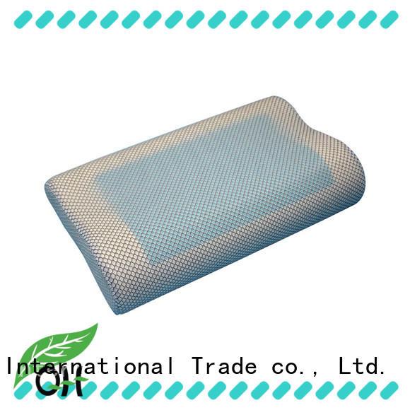 Qihao cool best gel pillow certifications for business trip
