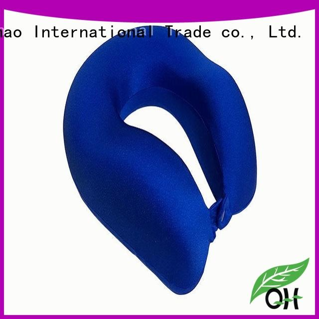 Qihao cool best neck pillow for flying supply for sleeping