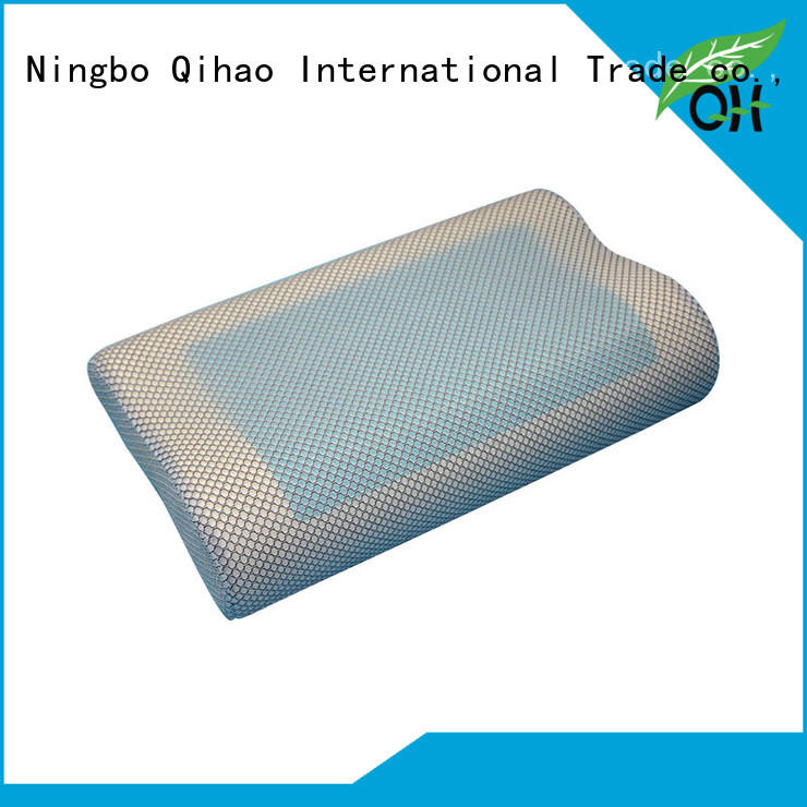 cool gel memory foam pillow reviews producer for office Qihao