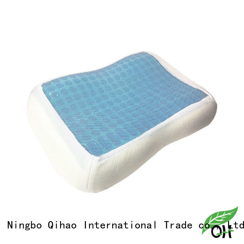Qihao touch gel contour pillow manufacturers for sleeping