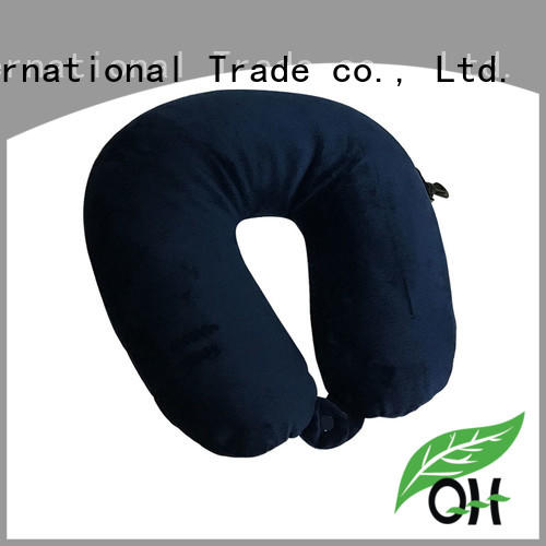 Qihao environmental best travel pillow for planes company for businessmen