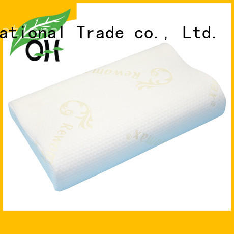 Qihao Custom memory foam pillow for back pain suppliers for a rest