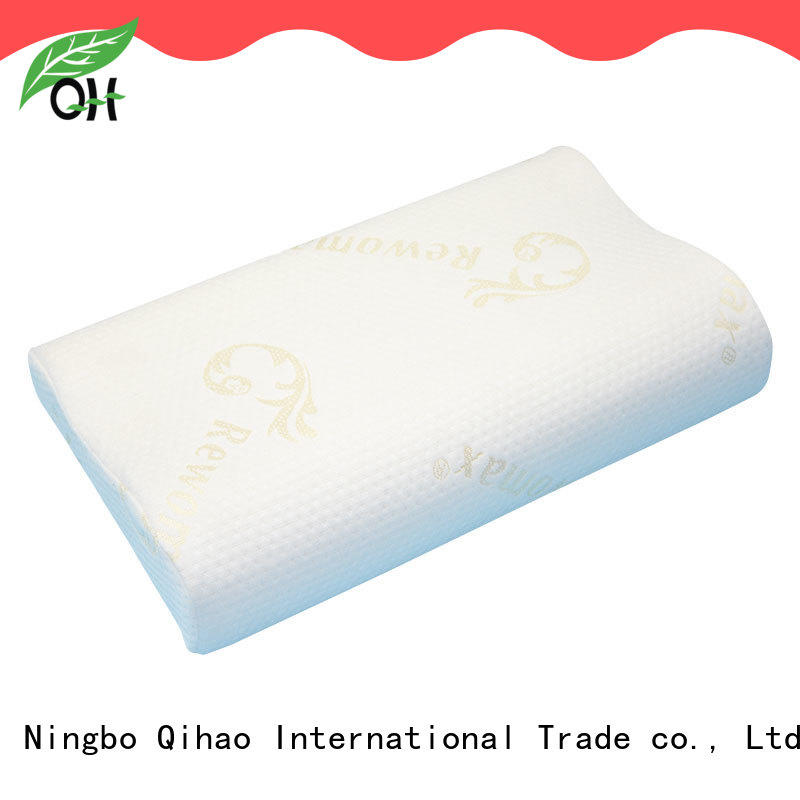 Qihao reliable Viscoelastic foam pillow factory for office