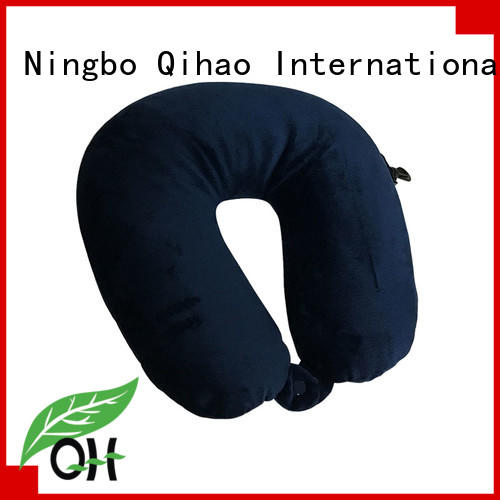 OEM microbead travel pillow qihao for business for sleeping