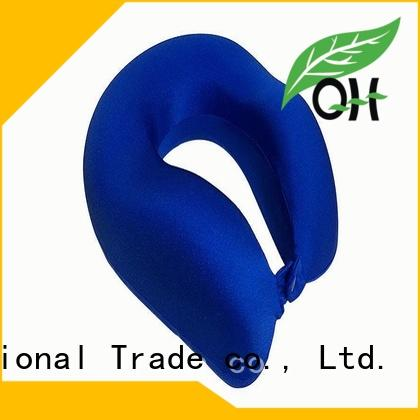 Qihao environmental the best memory foam pillow design for travel